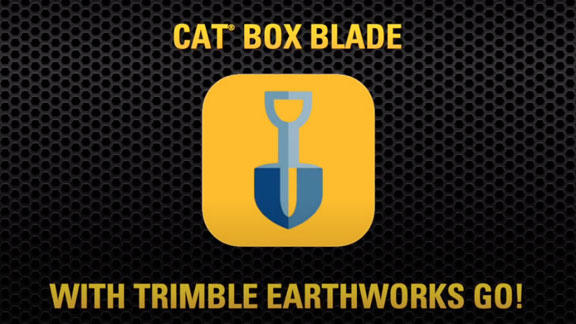 Cat Box Blade with Trimble Earthworks GO!