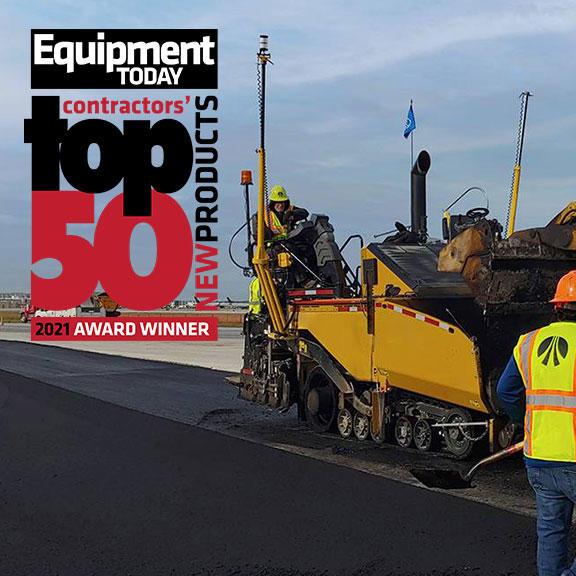 Trimble Roadworks Paving Control Platform - Top 50 Equipment Today